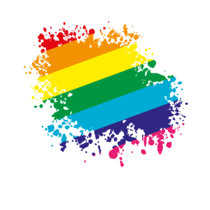 rainbow colors splatt