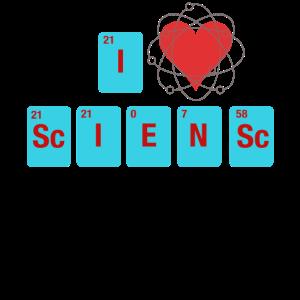 Ich liebe Wissenschaft