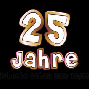 1,00 € - Neu! 25 Jahre Geburtstag