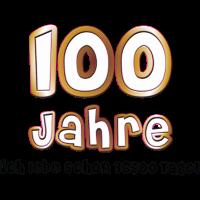1,00 € - Neu! 100 Jahre Geburtstag