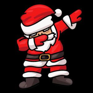 Dabbing Santa Weihnachtsmann Dab Dance