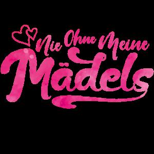 nie ohne meine maedels pink
