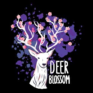 2555 DeerBlossomTshirt PR t shirt