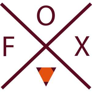 Fuchs mit Kreuz