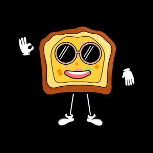 cooles Toastbrot