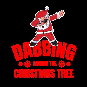 Dabbing through the Christmas Tree