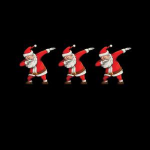 Dabbing Santas