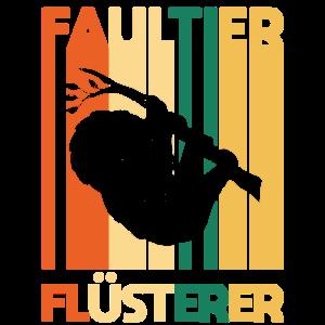 Faultier Retro
