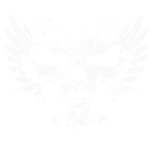 Totenkopf mit Flügel