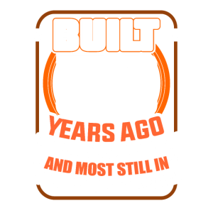 Built 50 Years Ago Birthday Fifthy Bday