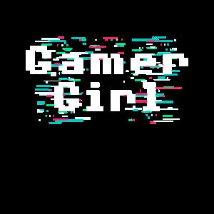 Gamer Girl Nerd Esports Geek Gaming Mädchen