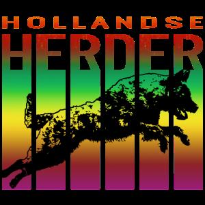 Herder bunt RH ohne Holz