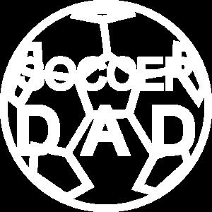 Soccer Dad schoenes helles Design