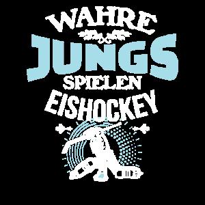 Wahre Jungs spielen Eishockey