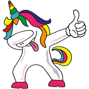 unicorn dab like
