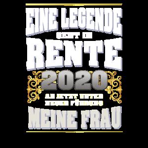 Eine Legende geht in Rente 2020 Geschenk