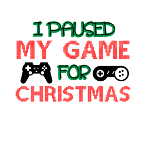I pause my game for Christmas Games / Weihnachten