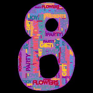 Happy Birthday - 8 Jahre