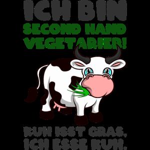 Ich bin Second Hand Vegetarier