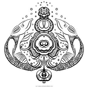 Street Mandala 8 Stefan Lindblad Illustration