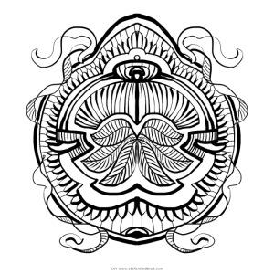 Street Mandala 5 Stefan Lindblad Illustration