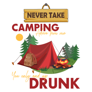 Camping Drunk Adventure