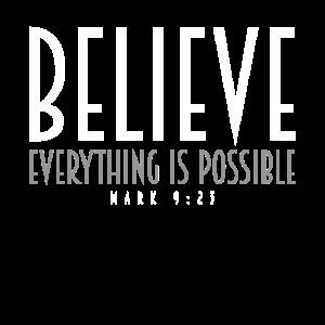 Glauben Sie inspirierende Motivationszitate