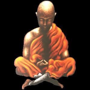 Yoga Meditation Spiritueller Buddhistischer Mönch