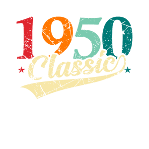 1950 Classic Birthday Bday Retro Vintage 50s