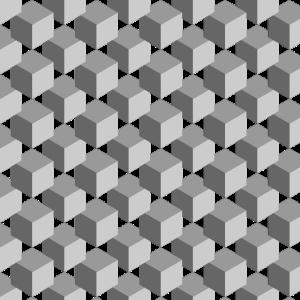 Gesichtsmaske Maske Retro Muster Geometrie Würfel