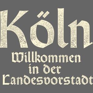 Köln T-Shirt für Düsseldorfer