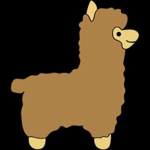 lama alpaca comic