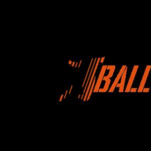 Handballer Streifen Schrift