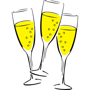 sekt glaeser illustration
