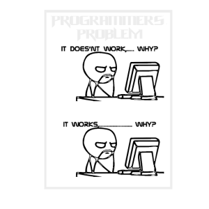 Programmierer Witz Probleme