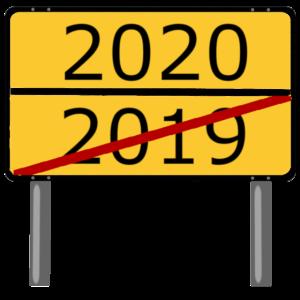 2020, Silvester, Neues Jahr