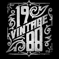Vintage 1988 30. Geburtstag Geschenk Bday '88