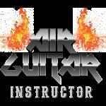 Air Guitar Instructor Heavy Metal T-Shirt