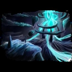 magischer Kristall