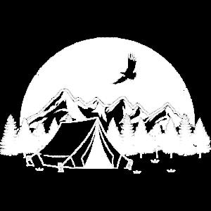 Wandern Camping Natur Outdoor Zelten Berge Ski