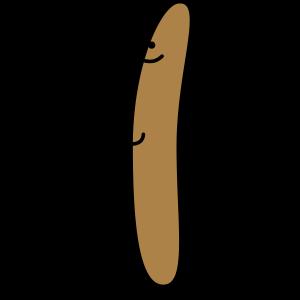 Stolzes Würstchen