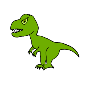 Tyrannosaurus Rex, T-Rex Geschenk Kinder & Babys