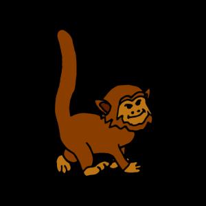 Baby Affe Äffchen