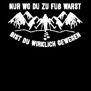 Spruch für Wanderer