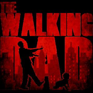 The walking dad - Vater Baby Lustig Humor Zombie