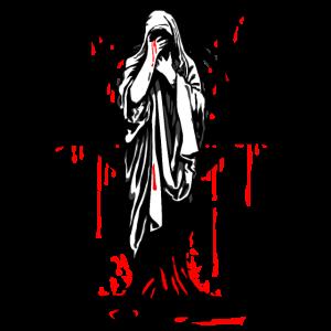 Nonne Maria Pentagramm Blut. luciver demon