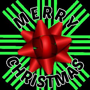 Frohe Weihnachten vorhanden