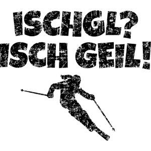 Ischgl Isch Geil Skifahrerin (Schwarz) Apres-Ski