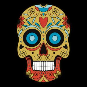 Mexikanischer Schädel