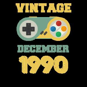 Vintage December 1990
